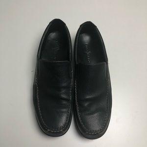 Cole Haan Black Dress Shoes Mens 12M Slip Ons